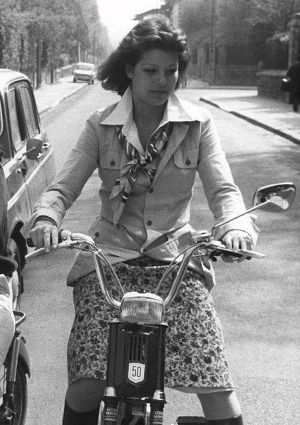 Caroline de Monaco, en 1975.