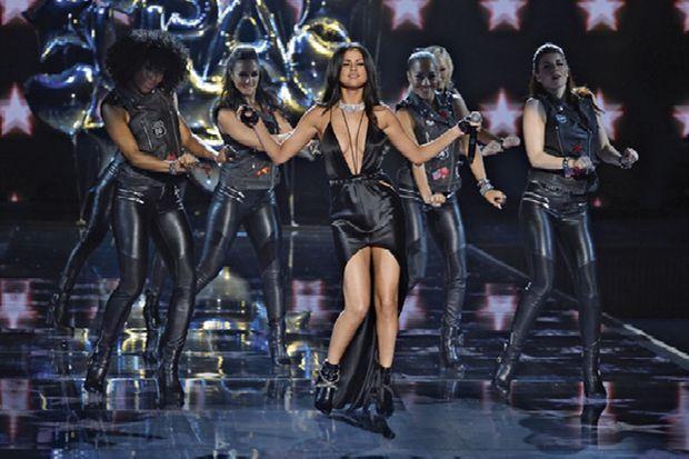 En novembre 2015, lors du défilé Victoria's Secret Fashion Show à New York.