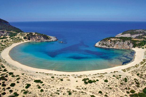 Littoral préservé à Costa Navarino, en Grèce. Le site touristique a été récompensé pour sa démarche globale.