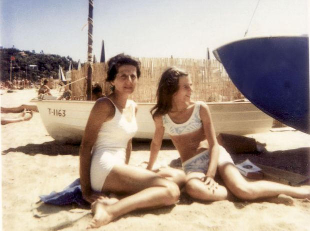 En vacances à La Croix-Valmer, Claire a 15 ans.