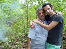 Rashid et son père.