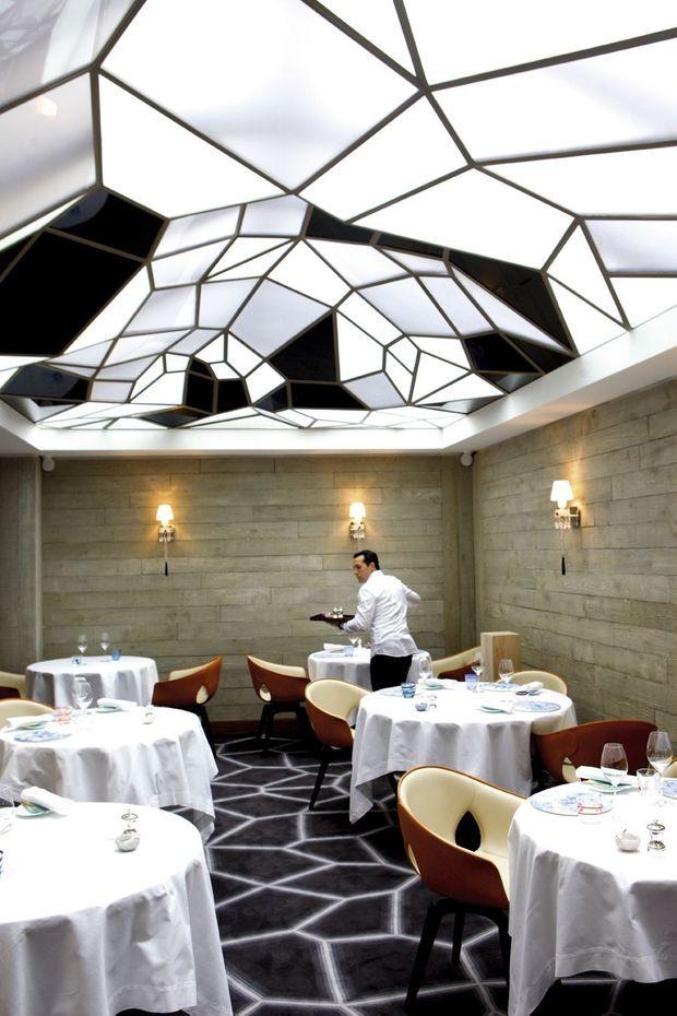 """""""Le grand restaurant"""" de Jean-François Piège."""