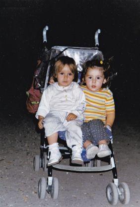 Elisa et Juliette à 3 ans