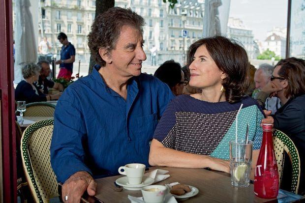 Jack Lang et sa fille Caroline: d'infinies conversations politiques.