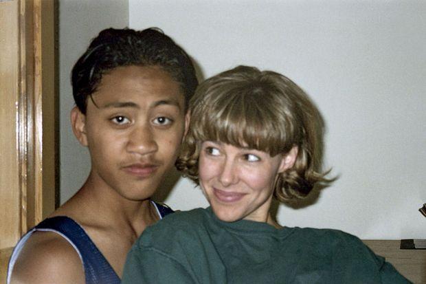 La photo du scandale, en 1996. Saisie par la police, elle fera le tour du monde.