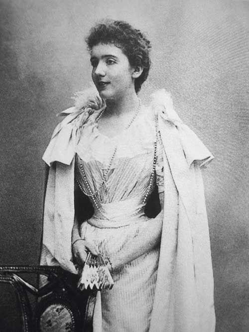 Marie de Benardaky en 1893 : son premier amour (platonique), rencontré en juillet 1886. Il a 15 ans…