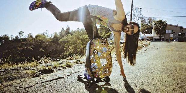 Micro Luggage Steve Aoki Edition