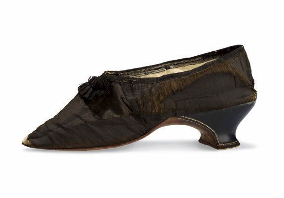 1792 Chaussure de Marie-Antoinette.