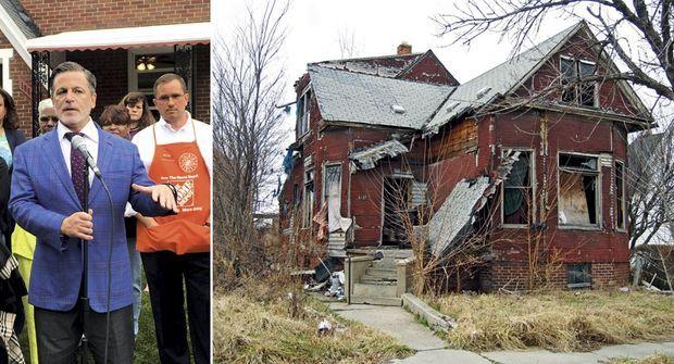 En plus d'investir massivement dans l'immobilier d'affaires, Dan Gilbert, 53 ans, natif de Detroit, est coprésident du Blight Removal Task Force. Un organisme chargé par Obama de détruire ces ruines résidentielles, saisies ou abandonnées de leurs occupants, étranglés par leurs emprunts et par une fiscalité démesurée.