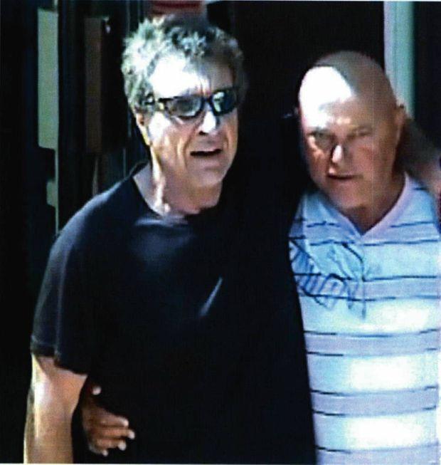 Rocco, un autre frère Magnoli (à dr.), et sonassocié Philippe Flori, arrêtés eux aussi en juin 2015.