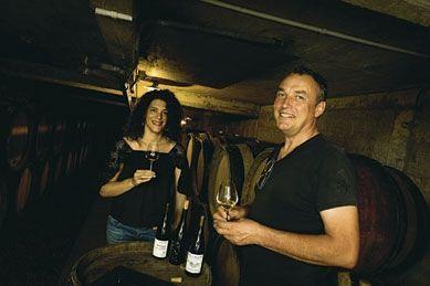 Des vins uniques, personnels. Et un couple, Carole et Emmanuel, uni dans l'adversité.
