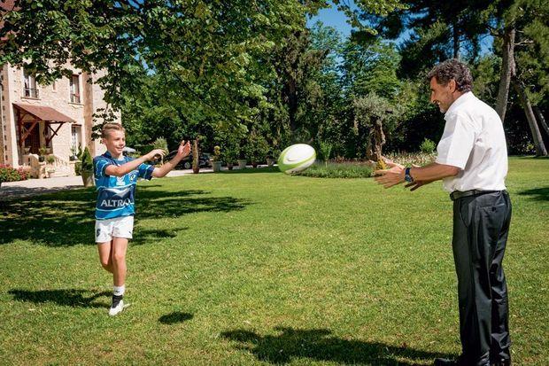 Noha, 14 ans, passioné de rugby, a choisi la filière sport études.
