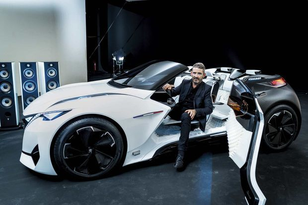 Gilles Vidal, directeur du style Peugeot