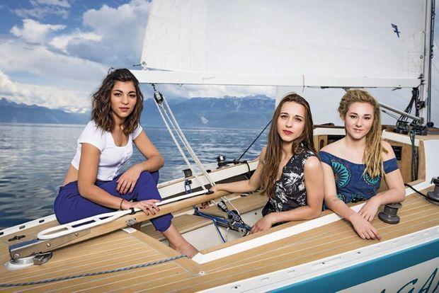 Lucie, Elisa et Juliette (de g. à dr.)