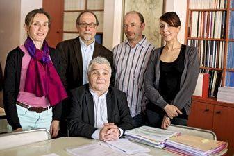 Le pr Dominique Belpomme et son équipe.