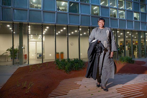 Fatou Bensouda, procureure générale de la CPI. En 2012, elle figurait au palmarès des 100 personnes les plus influentes du monde, établi par le magazine américain « Time ».