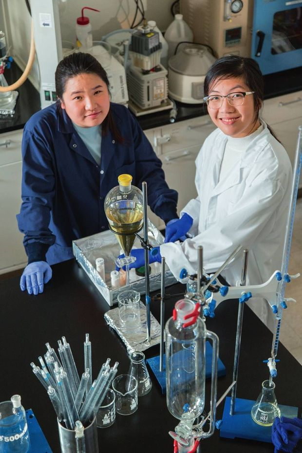 Miranda Wang et Jeanny Yao, cofondatrices de BioCellection.