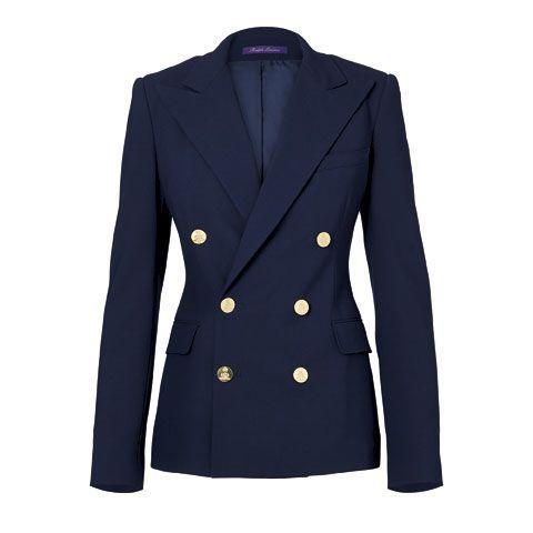 Le blazer RL 100 % cachemire, Ralph Lauren collection, 3 250 €.