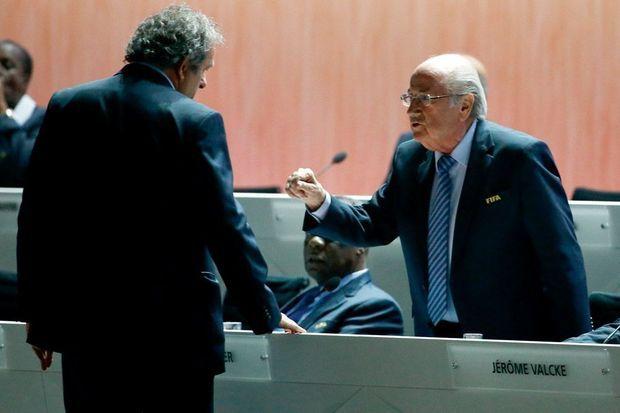 65e congrès de la Fédération internationale, à Zurich, le 29 mai. Sepp Blatter vient de se faire réélire. Après sa démission, le prince jordanien Ali Bin Al-Hussein a annoncé sa candidature.