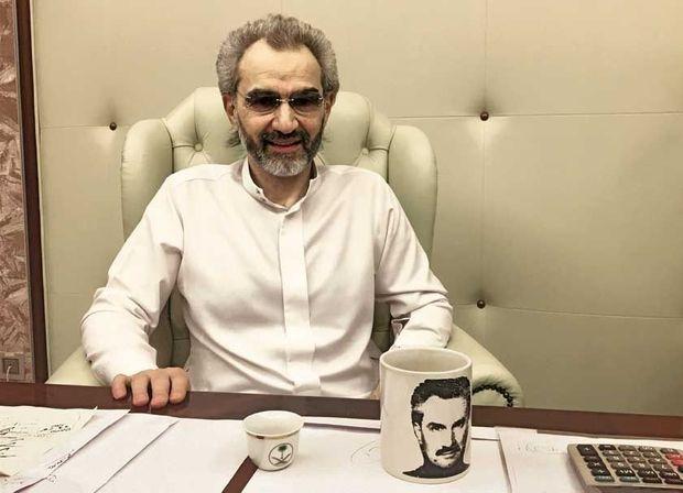 Le 27 janvier, première interview du prince Al-Walid Ben Talal dans l'hôtel où il a été détenu.