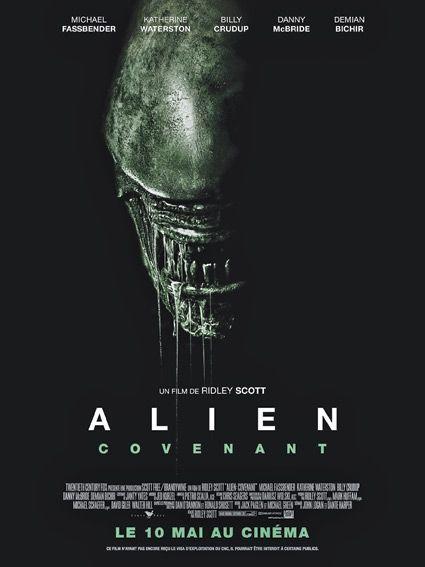 """""""Alien : Covenant"""", sortie le 10 mai."""