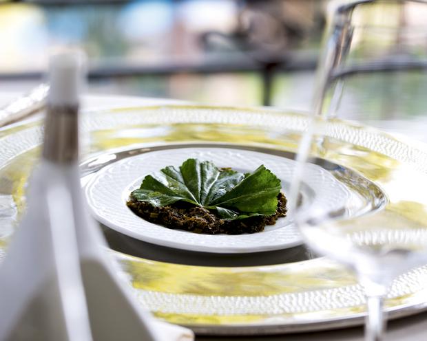 Salade de mauve ou d'épinards