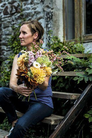 En Aveyron, au Jardin de Veillac, Camille Singla-Jalibert est maraîchère et horticultrice.