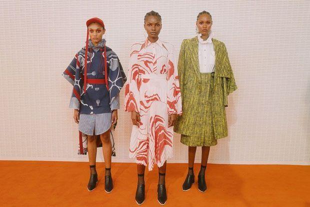 es créations du Sud-Africain Thebe Magugu s'inspirent de son pays et du mouvement Black Sash.