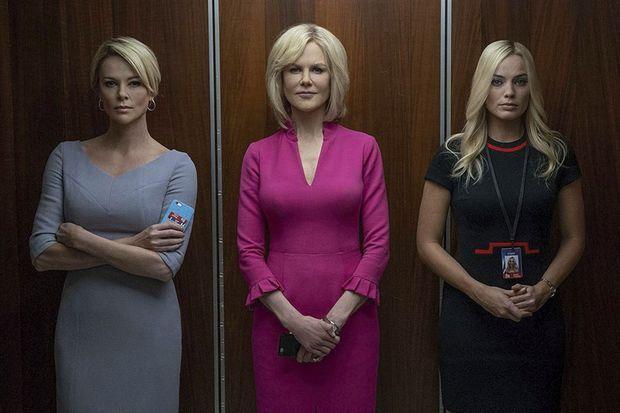 Charlize Theron, Nicole Kidman et Margot Robbie dans Scandale
