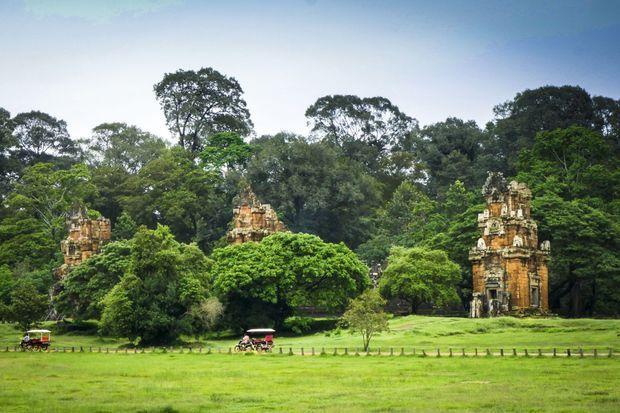 Les temples d'Angkor.