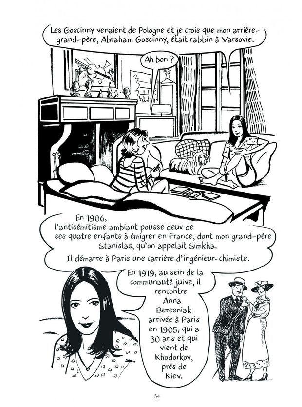 « Le roman des Goscinny », de Catel, éd. Grasset, 24 euros.