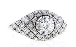 Bague vintage en platine et diamants taille rose, Collector Square, 2 980 €.