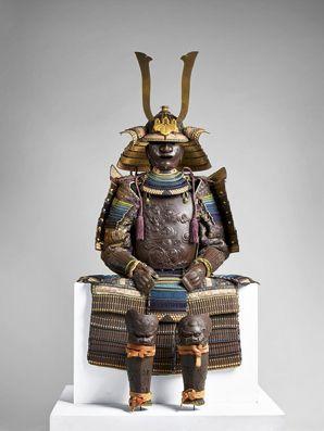 Armure japonaise, 1707-1730.