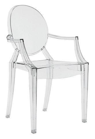 Fauteuil Louis Ghost de Philippe Starck (Kartell).