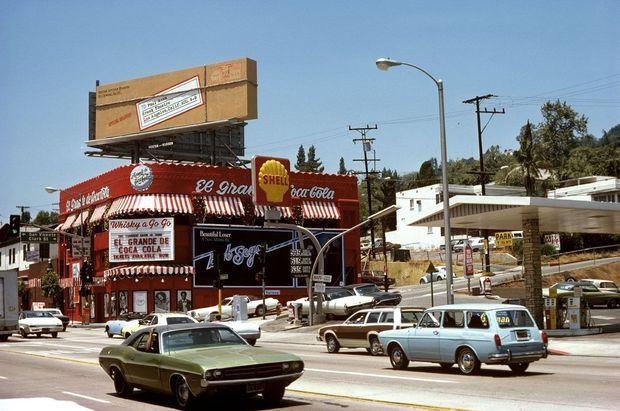 Le Whisky à Gogo sur Sunset Strip, à Los Angeles, dans les années 1970.