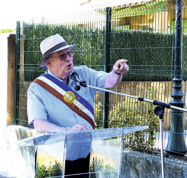 Jean-Mathieu Michel en juillet 2018. Il a reçu la Légion d'honneur à titre posthume.