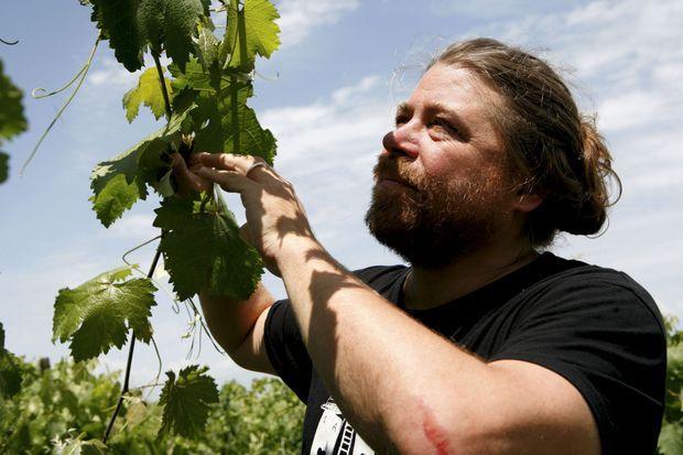 L'Américain John Wurdeman s'est pris de passion pour le vin naturel