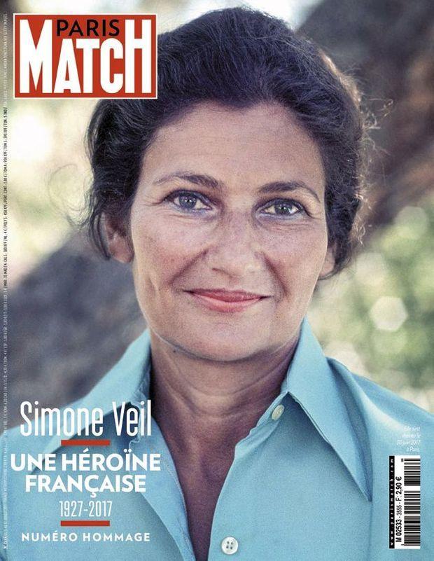 Couverture du Paris Match numéro 3555 du 5 juillet 2017 .