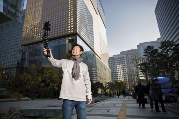 Jun Heo, devenu présentateur vedette, se voit volontiers en politique, afin de balayer les clichés et les peurs.
