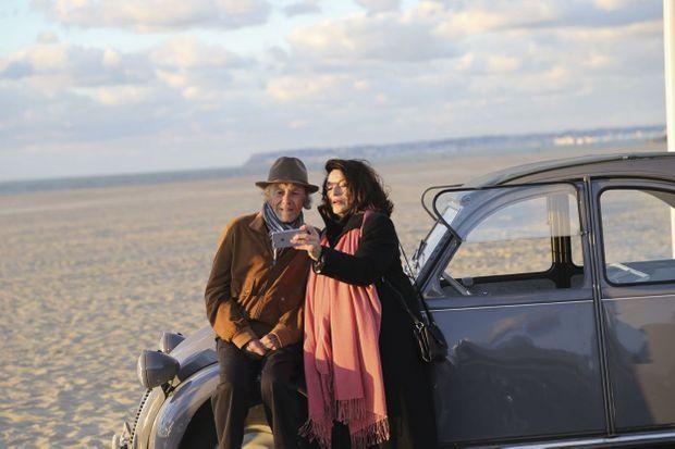 Deux légendes pour une plage mythique. Le tournage a eu lieu en septembre et en octobre 2018, en Normandie. Ici, à Deauville.