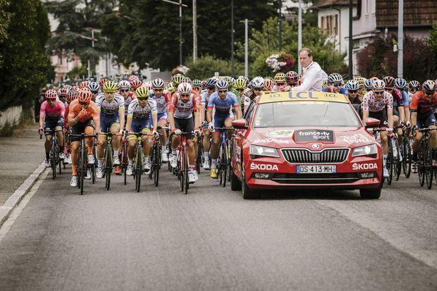 Skoda, partenaire du Tour du France.