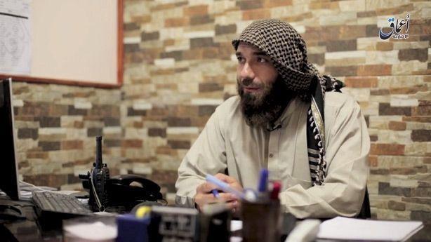 Abou Sakr sur une vidéo de propagande de Daech, fin 2016.