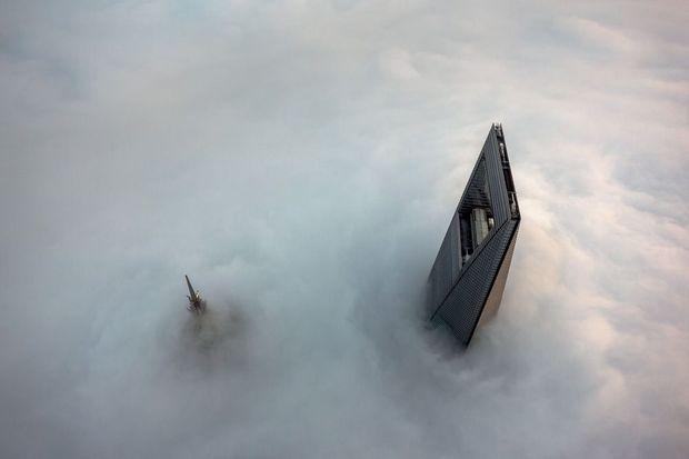 La Shanghai Tower, une tour au-dessus des nuages.