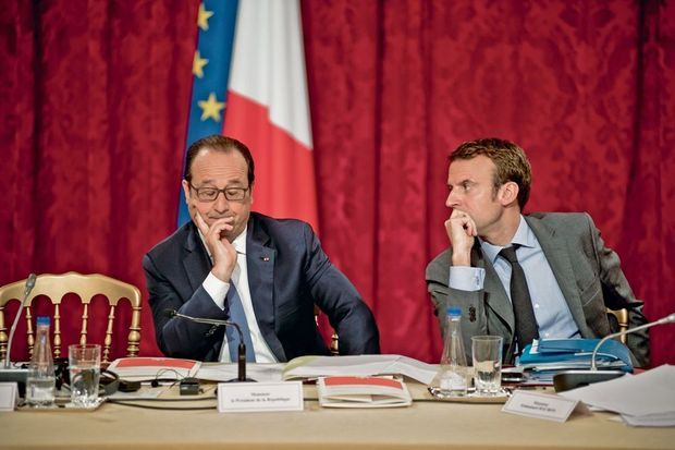 A l'Elysée, au Conseil stratégique de l'attractivité présidé par François Hollande, le 17 février 2014.