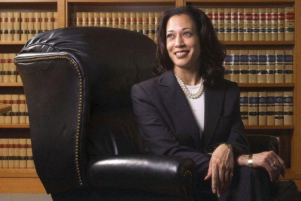 Première étape vers le pouvoir. En 2004, Kamala Harris est la nouvelle procureure de San Francisco.
