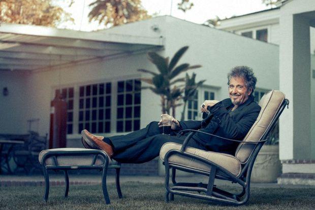 Al Pacino nous a reçus chez lui à Los Angeles.