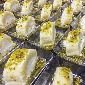 Le halawet el jeben, délicieux cheesecake syrien.