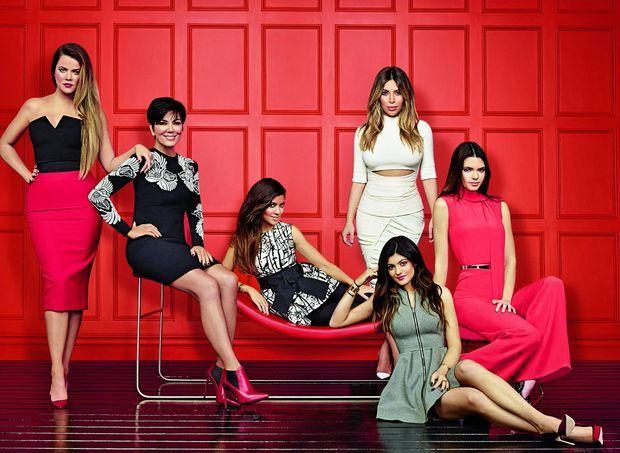 Kloe, Kris, Kim, Kylie et Kendall, en 2014, lors de la saison 9.