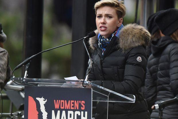 Scarlett Johansson à la Women's March