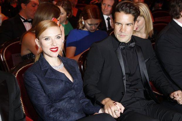 Scarlett et Romain lors de la cérémonie des César en février dernier.